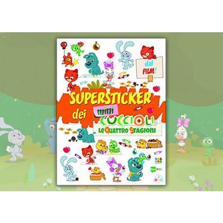 """Mini Cuccioli - Superstickers """"Le quattro stagioni"""""""